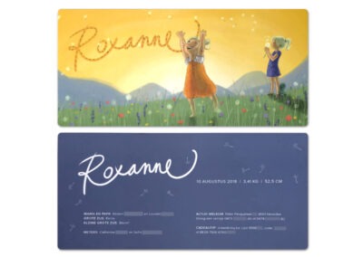 kaartje roxanne